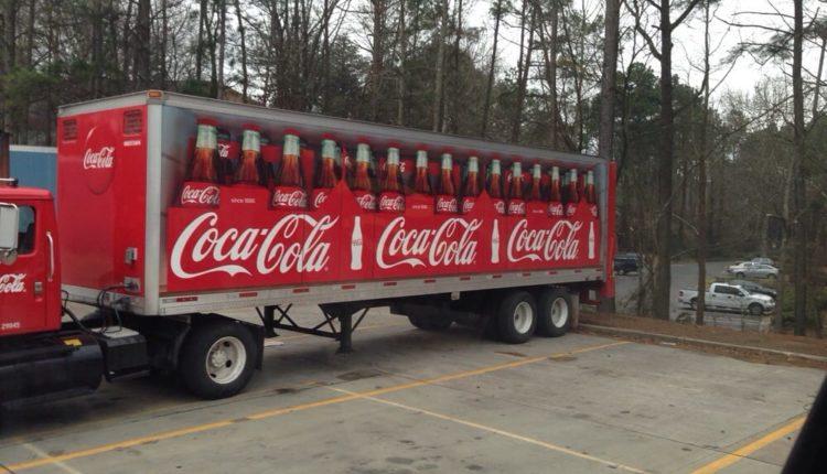 coca cola transport