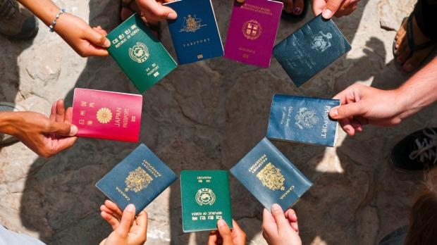 pasaporta te fuqishme
