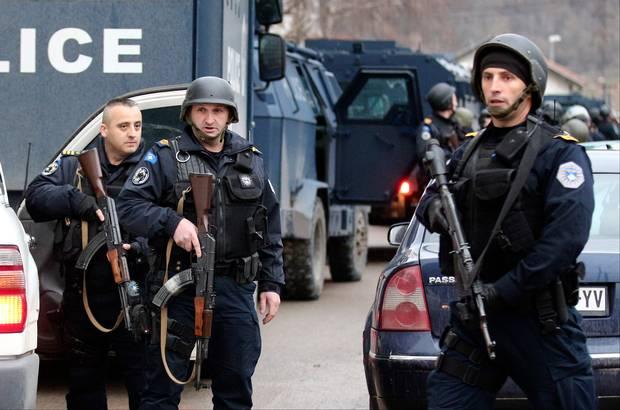 policia e kosoves ne aksion ne veri