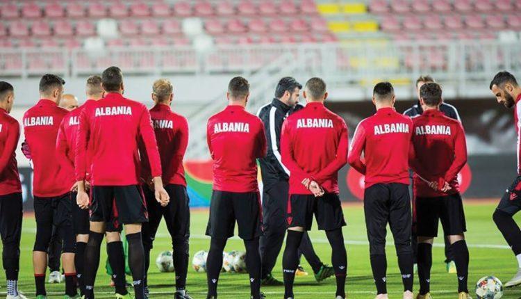 shqiperia futboll