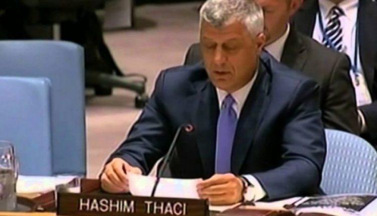 Hashim Thaci ne KS te OKB