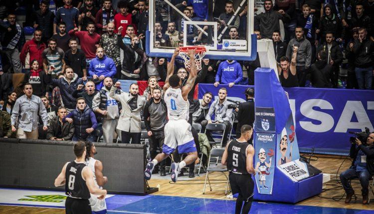 basket prishtina fiba euro cup