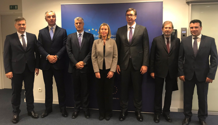 mogherini with 5 WB leaders