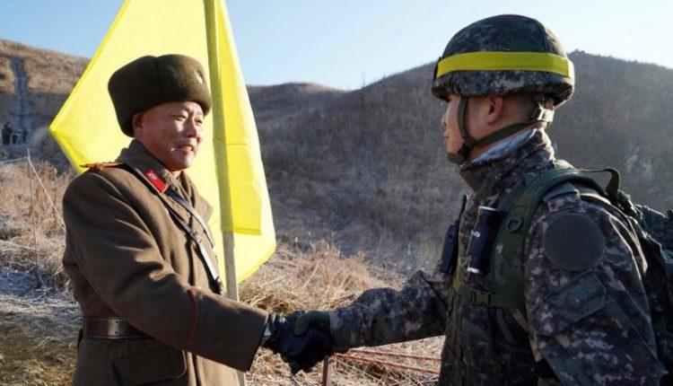 ushtaret koreane veri-jug ne miqesi