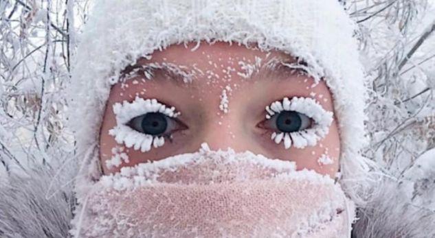 Anastasia Gruzdeva, sibir -45 celsius