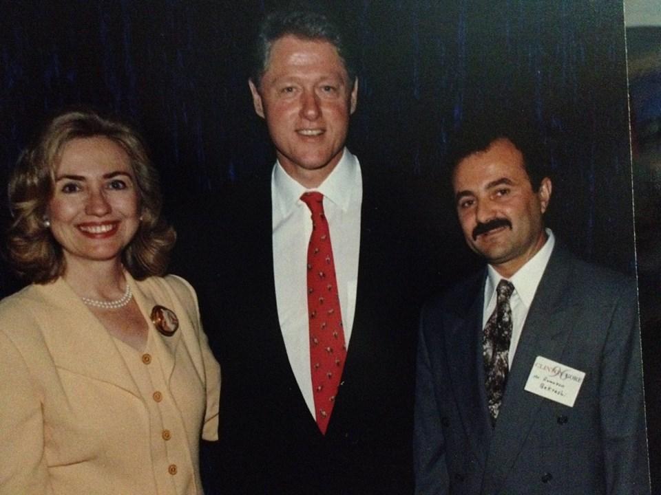 President Clinton, Hillary Clinton and Ramazan Bekteshi