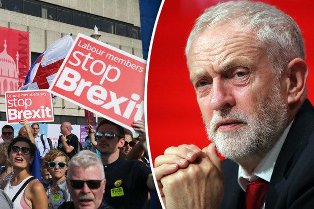 jeremy corbyn labour brexit