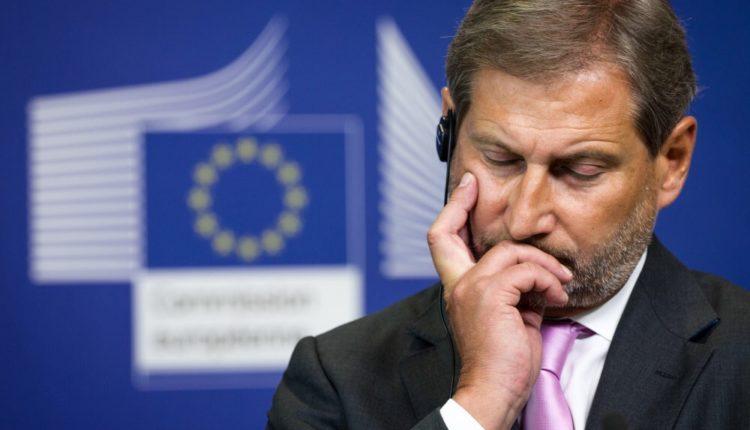 El comisario europeo de Política Regional, Johannes Hahn
