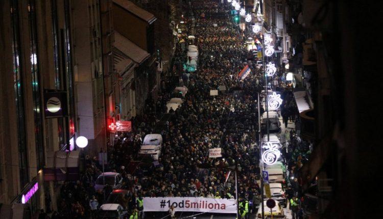 protesta ne beograd 12.01.19
