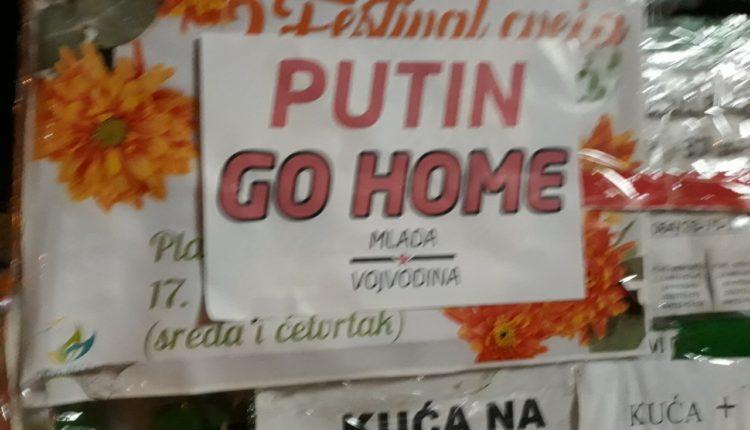 putin go home