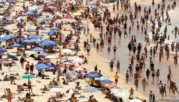 Australia plazh nxehte