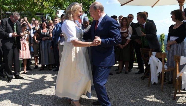 Austria ministre e jashtme Karin Kneissl – Putin