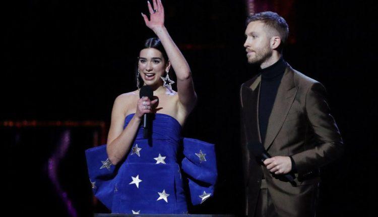 dua lipa brit awards 2019